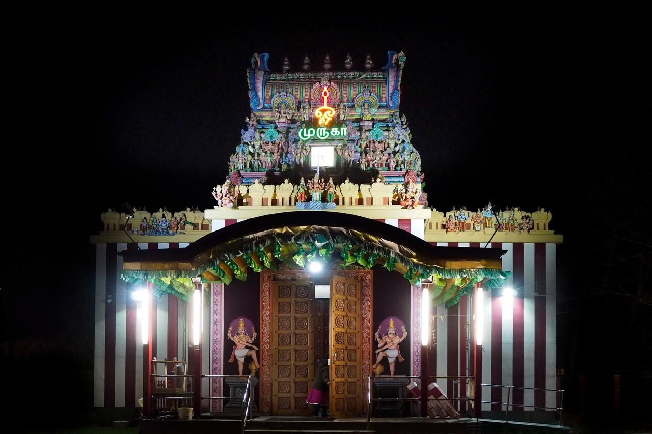 """""""Hindu-Tempel Britz"""" – Murugan-Tempel"""